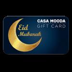 Eid mubarak Gift card