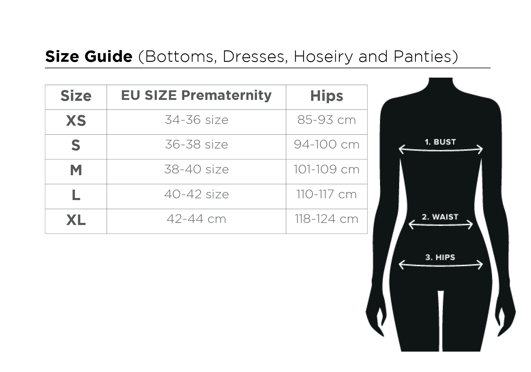size guide MEUP