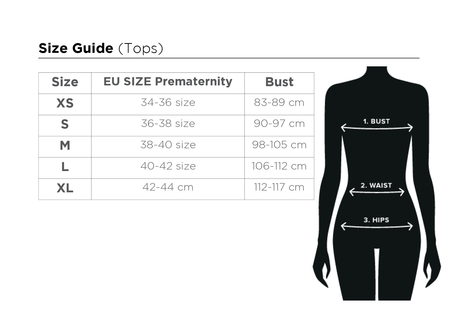 size guide ME UP