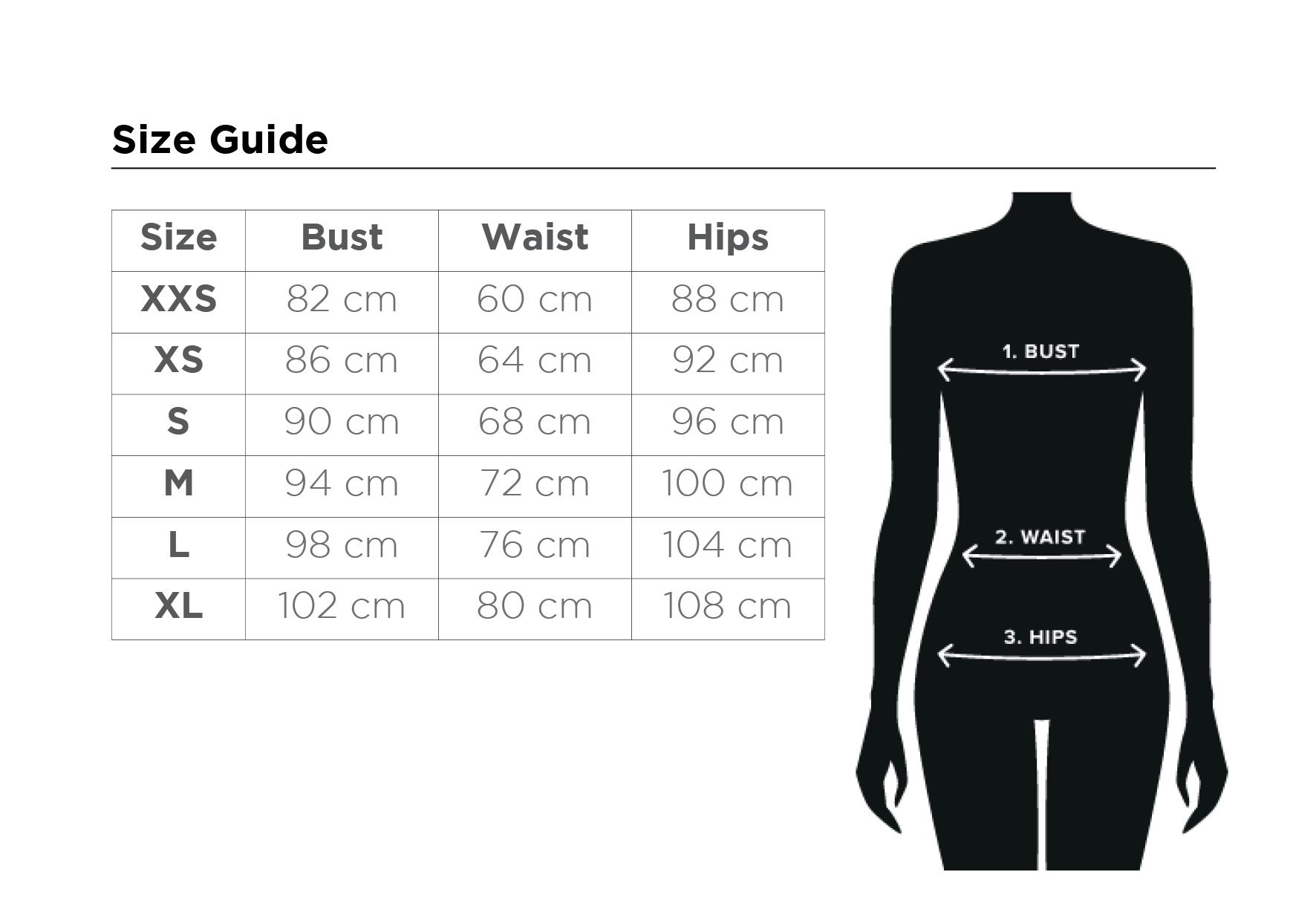 size guide adl