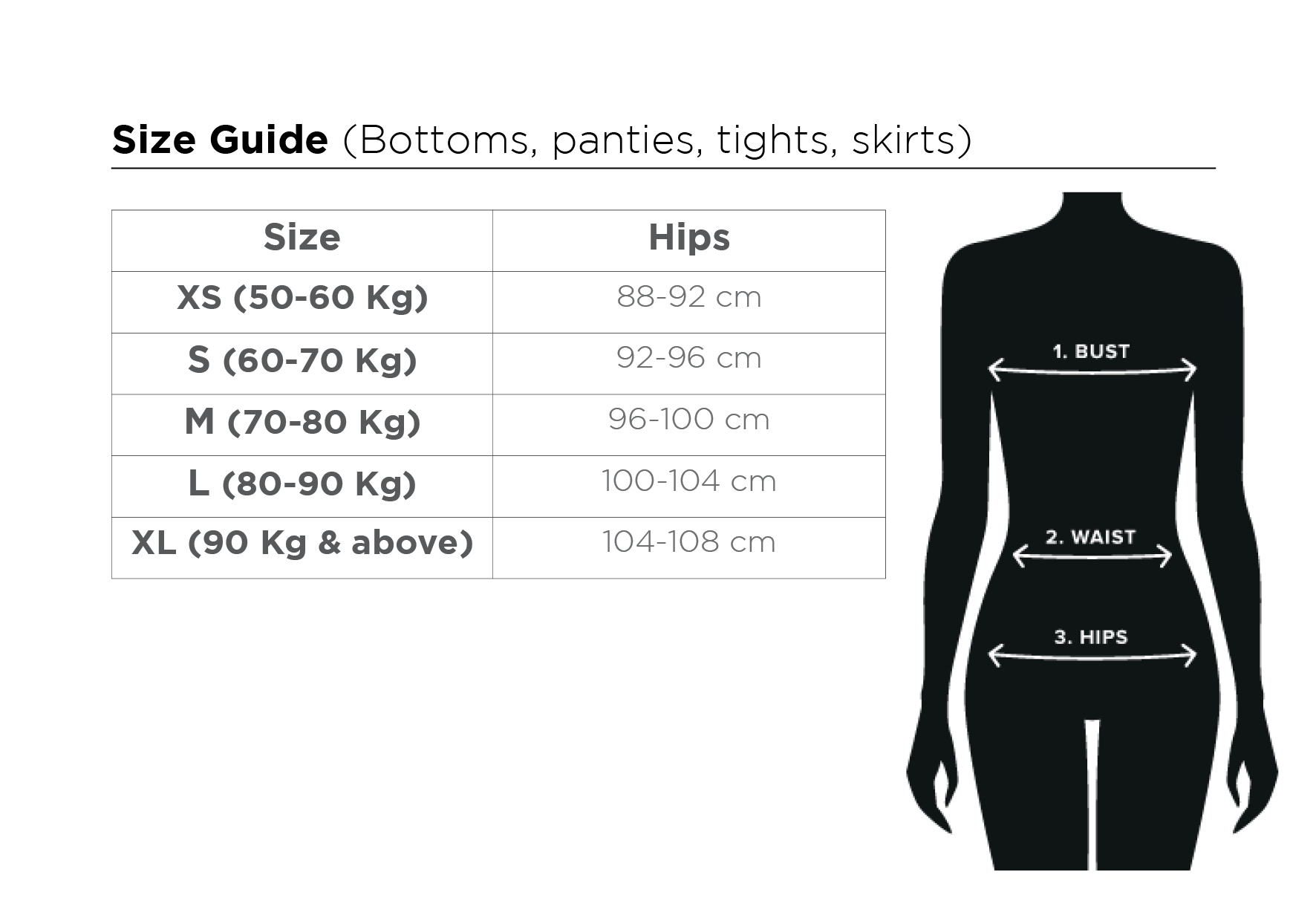 size guide ML D