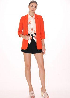 108778 – Felicity Jacket Coral Main