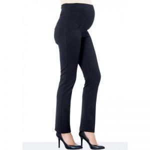 2936-Slim Fit Maternity Pants Black Main