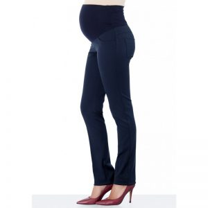 2936-Slim Fit Maternity Pants Navy Main