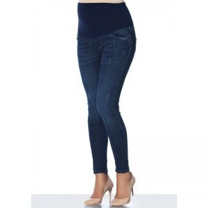 3153 – Jean Maternity Pants Dark Blue Main