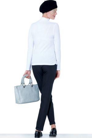 325 – Body Pregnant T-Shirt White Back