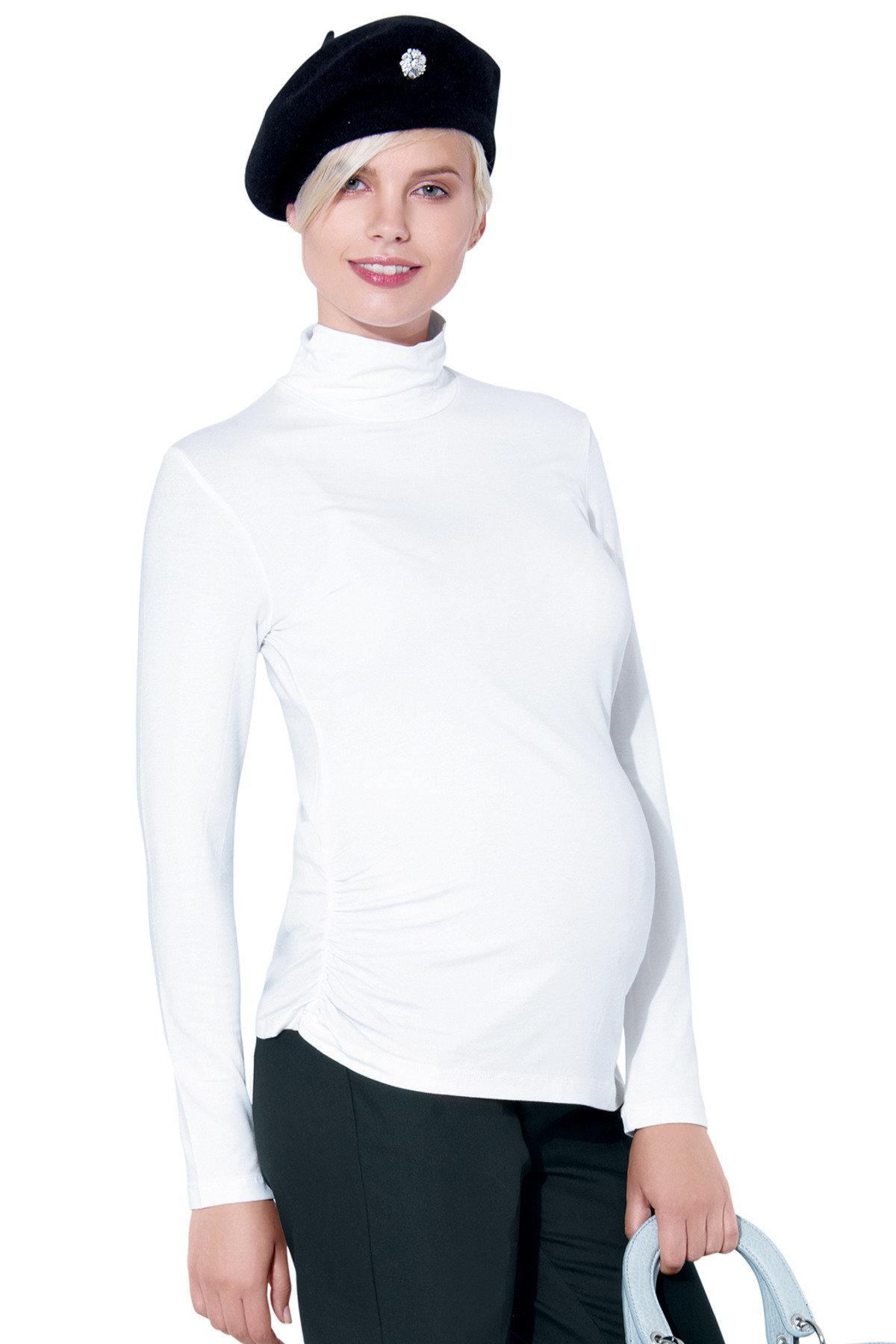 83badcb439cc1 Body Pregnant Long Sleeve White - CasaMooda.com