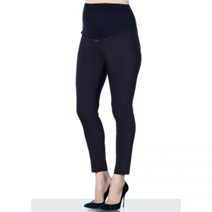 3290 – Ankle Lenght Strech Maternity Pants Black Main