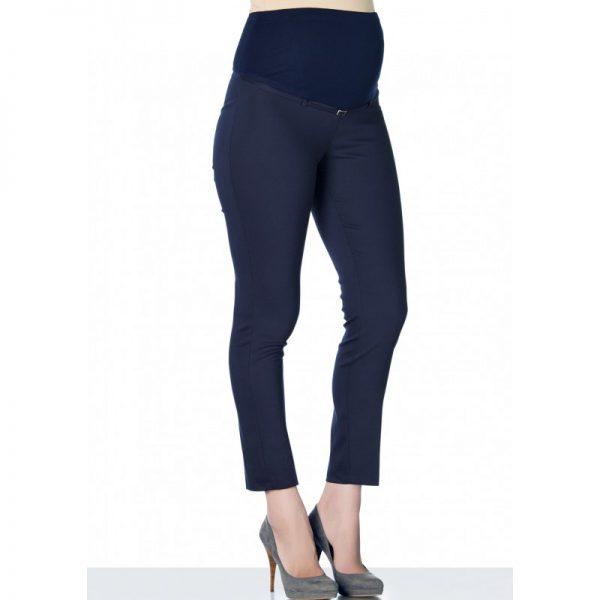 3290 - Ankle Lenght Strech Maternity Pants Navy Lacivert