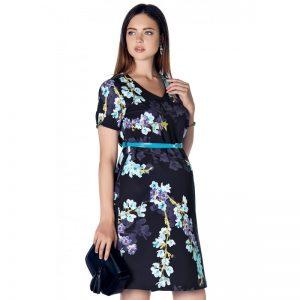 3294 – Floral Materniy Dress Main