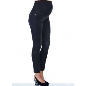 3472 – Maternity Jeans Black Side
