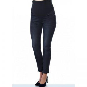 3472 – Maternity Jeans Black Zoom