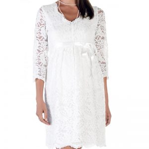 3545 – Maternity Dress White zoom