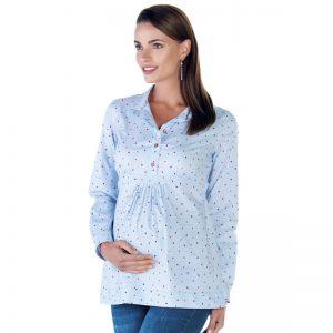 3595 – Ladybug Maternity Shirt Side