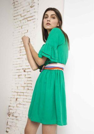 SP18SAM49 – Frilly Green Dress Ctds