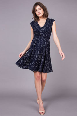 dotted-dress